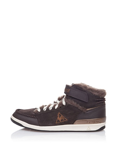 Le Coq Sportif DIAMOND LAMMY ADD Scarpe Pelle Marrone per Donna