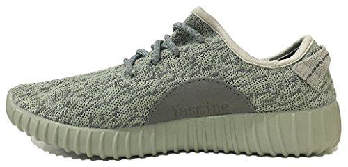 Yasmine Fashion Lightweight Sneakers Unisex Shoes for Couple Men Women Olive - Green Football Olive