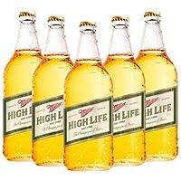 Cerveza Miller High Life 12 Botellas de 940ml