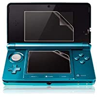 OSTENT Ultra Clear Screen Guard Film LCD Protector Compatible for Nintendo 3DS Pack of 3