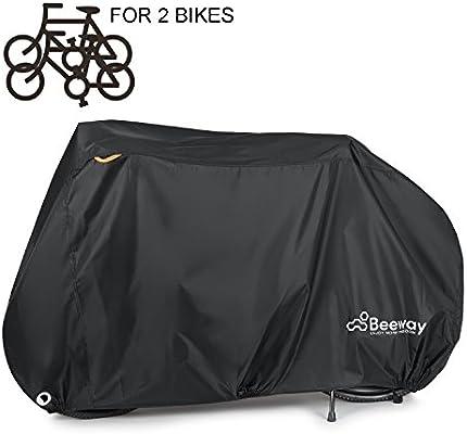 Beeway - Funda para bicicleta, cubierta impermeable resistente al polvo y a la lluvia, protección para interior y exterior - Tela Oxford de 210D, ...