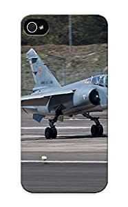 For Iphone 5/5s Protective Case, High Quality For Iphone 5/5s Aircraft Army Aack Fighter French Jet Military Dassault Mirage Skin Case Cover