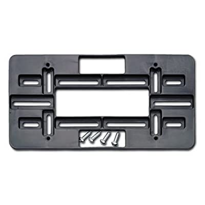 Cruiser Accessories 79150 Universal License Plate Mounting Plate, Black: Automotive