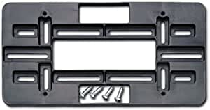 Cruiser Accessories 79150 Universal License Plate Mounting Plate, Black