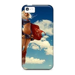 Excellent Design Super Woman Case Cover For Iphone 5c