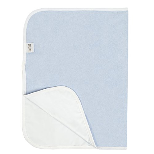 Kushies Baby Deluxe Change Pad Terry, Blue (Terry Baby Pad Changing)