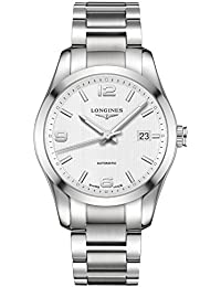 Conquest White Dial Stainless Steel Watch L27854766 · Longines