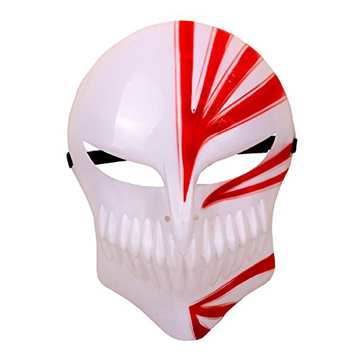 Bleach Hollow Mask - Bleach Kurosaki Ichigo Mask Red Cool