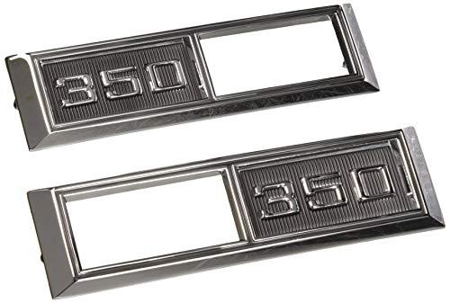 "(Trim Parts 4522 1968 Chevrolet Full Size/Chevelle/Nova/El Camino Front Marker Light Bezel, ""350"")"