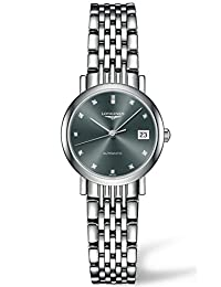 Longines Flagship Black Dial Stainless Steel Ladies Watch L43094786