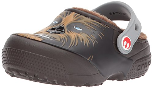 Crocs Boys' Lined Chewbacca Clog, Espresso, 9 M US Toddler