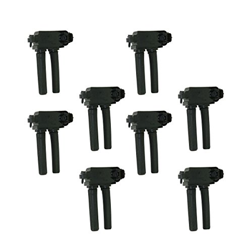 Ignition Coils Kit Set of 8 for Chrysler Dodge Jeep Ram Truck 5.7L 6.1L V8 Hemi ()