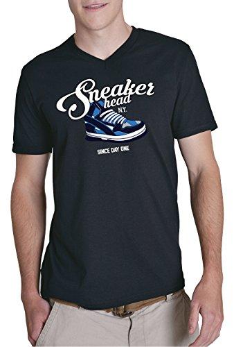 Sneaker Head V-Neck Black Certified Freak