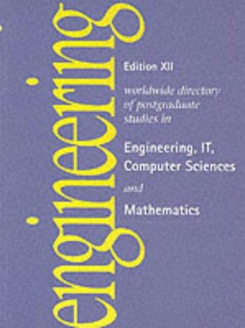 Postgraduate Studies in Engineeringit Computer Science and Mathematics (Edition XII guides)