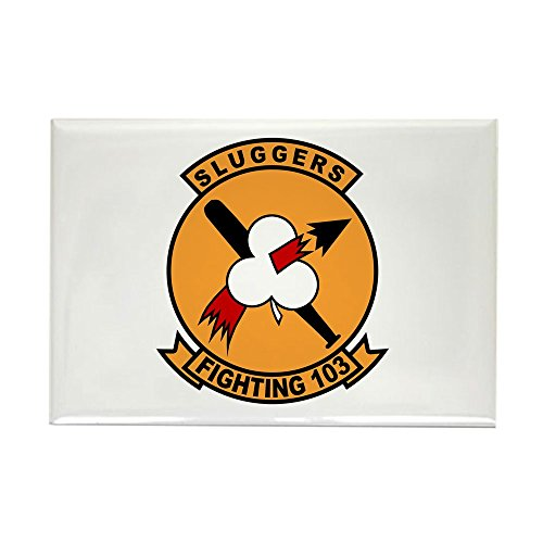 CafePress VF-103 Sluggers Rectangle Magnet, 2