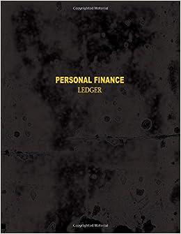 personal finance ledger 5 columns basic brilliance 9781974059881