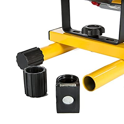 FLOOD-IT MAGPACK - Magnetic Feet for PRO LED Flood Light - Stick Your Portable Light to the Hood of a Car, Tractor, or Other Metallic Surface - Easy to Attach - Made With FLOOD-IT Quality - Black