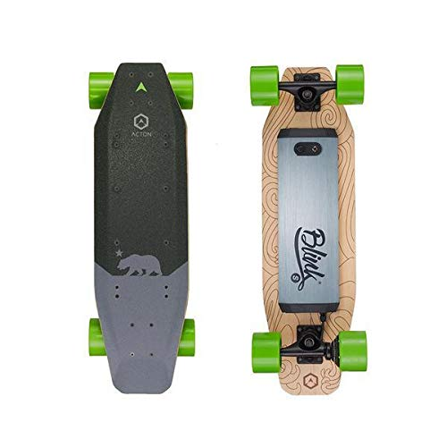 Acton Blink S Electric Skateboard - Black/Green ,...