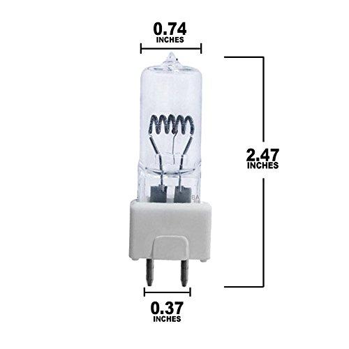 OSRAM SYLVANIA FTK 500w 120v Halogen bulb x 3 pieces