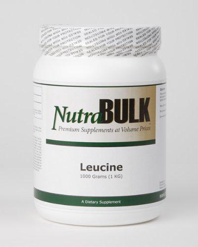 NutraBulk L-Leucine un kilogramme - 1000 grammes