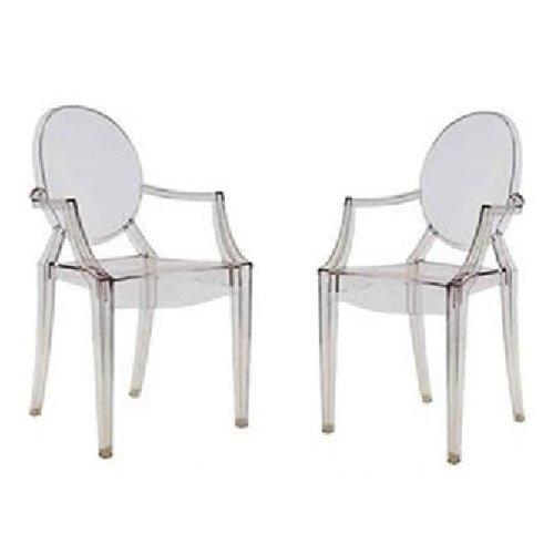 Ghost Arm Chair (2, Clear)
