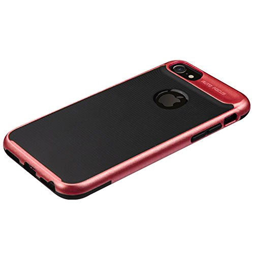 iPhone 8 Case / iPhone 7 Case - ZV Hybrid Heavy Duty Bumper Case [Dual Layer Rugged Shell] Protective and Thin