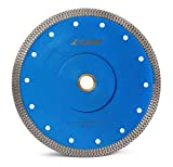 Z-LEAP 7' Super Thin Diamond Saw Blade with 5/8 Arbor for Granite Marble Ceramics Porcelain Tiles Cutting