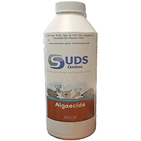 SUDS-ONLINE Algaecide For Simming Pools, Spa's Hot Tubs (1L) Spa' s Hot Tubs (1L)