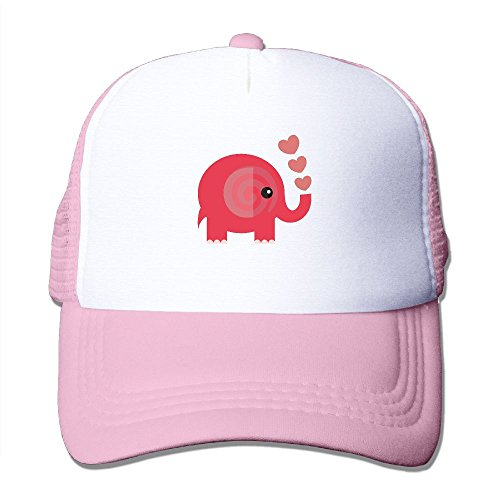 Trucker Cap Elephant Two-Tone Stretch Mesh Fitted - Two Elephant Tone