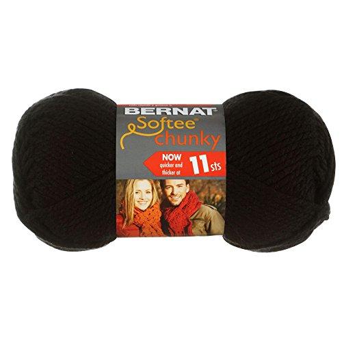 Bernat Softee Chunky Black Single product image