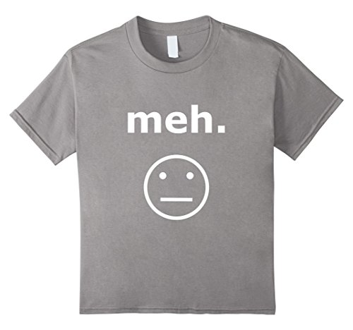 Kids Feeling Meh Emotion Just Okay T-Shirt Trendy T Shirts 12 (Trendy Youth T-shirts)