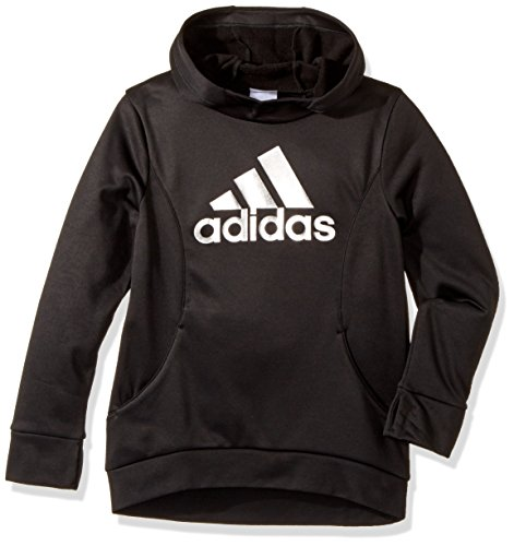 adidas Girls' Big Performance Hoodie, Black L (12/14)