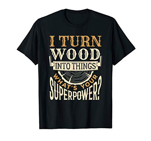 Wood Carving Chainsaw Carving T-Shirt Gift for Wood Carver