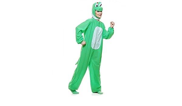 Disfraz de Super Mario Bros Yoshi Yoshimoto verde dinosaurio ...