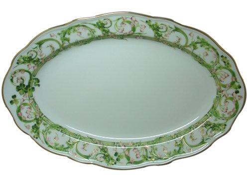 (Versace by Rosenthal Flower Fantasy 13-3/4-Inch Oval Serving Platter)