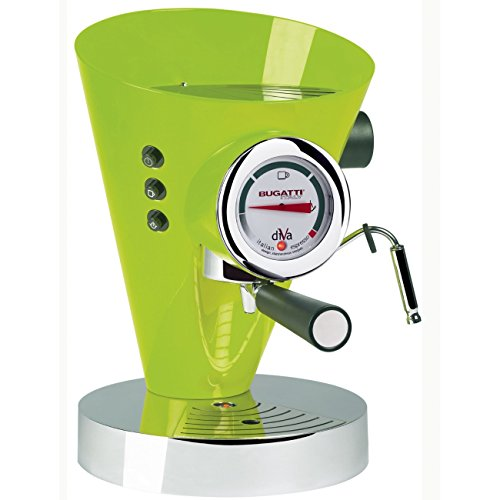 """BUGATTI – """"Diva"""" Italian Espresso coffee machine – Lilac"""