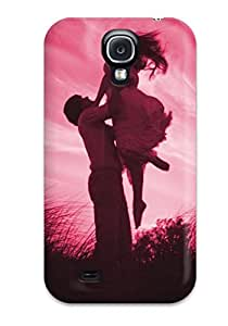 Hot Fashion CNElwLV3747IOLYa Design Case Cover For Galaxy S4 Protective Case (love 038 Romances)