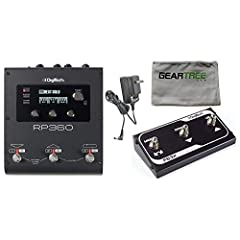 The RP360 is a complete 360 Degree solution for your guitar effect needs. The RP360 guitar multi-effect processor has over 160 different effects (54 amps, 26 cabinets, 82 effects) inspired by worlds best-selling pedals and iconic amps. The RP...