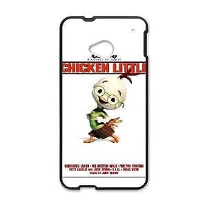 HTC One M7 Black phone case Disney Cartoon Comic Series Chicken Little QBC3090920