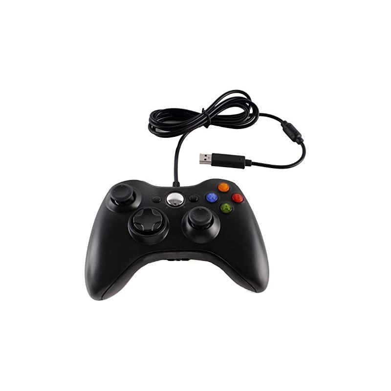 Wired USB Game Controller Gamepad Game J