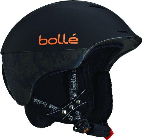 Bolle Synergy Ski Helmet (Soft Black, 58-61-cm), Outdoor Stuffs
