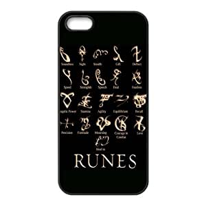 Fashion Supernatural Personalized iPhone 5 5S Rubber Silicone Case Cover