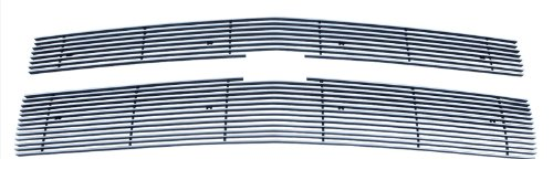 MaxMate 2014-2015 Chevy Silverado 1500 2PC Bolton Upper 7/12 Bars (Only Fit Z71 Models) Billet Polished Aluminum Grille Grill Insert