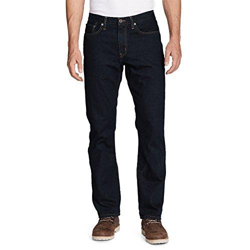 Eddie Bauer Men's Authentic Jeans - Straight Fit, Dk Rinse 35/34