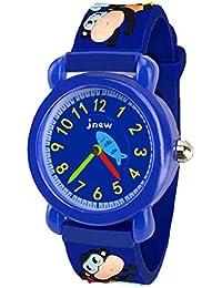 Unique 3D Cartoon Waterproof Watches for Kids - Best Gifts