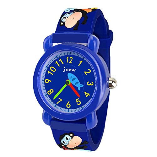 Price comparison product image Watches for Boys Girls Kids Children, Tisy Kids Cartoon Watches Gifts 3-12 Year Old Boys Gifts for 3-12 Year Old Girls Toys for 3-12 Year Old Girls Boys Monkey TSUSWH05