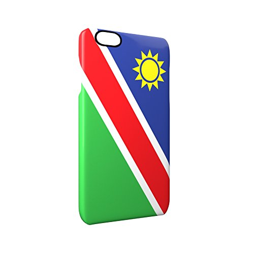 Flag of Namibia Glossy Hard Snap-On Protective iPhone 6 / 6S Case Cover