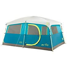 Coleman Tenaya Lake 8-Person Fast Pitch with 1 Small Closet, 13 X 9 Plus 2 X 2 Feet, Center Height 6-Feet 8-Inch