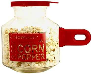 Catamount Glassware CGS4526R Glass Microwave Corn Popper : Love this unit – makes great popcorn in time specified