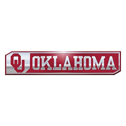 - NCAA Oklahoma Sooners Truck Emblem, 2-Pack